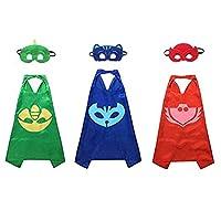 Kiddo Care MK2 Super Hero Capes Satin (PJ Mask Set)