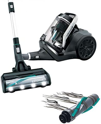 BISSELL SmartClean Pet | Bagless Vacuum Cleaner | Tangle-Free Brushroll And Automatic Floor Type Recognition | 2228A