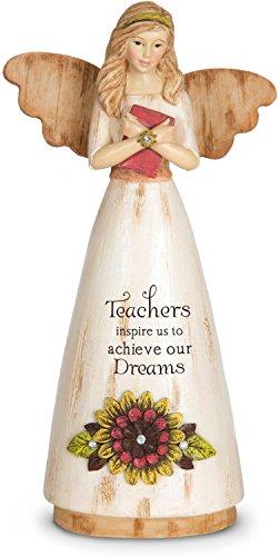 Pavilion Gift Company 03013 Teacher Angel Figurine, 6-Inch