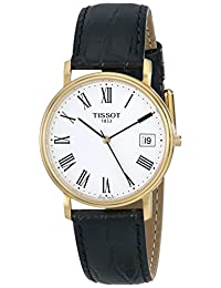 Tissot Men's T52542113 T-Classic Desire Leather Watch