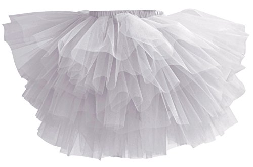 Aivtalk Baby Girls Tutu Skirt Ballet Tulle Pettiskirt Spring Dress-up Party Dancewear 2-3T Gray ()