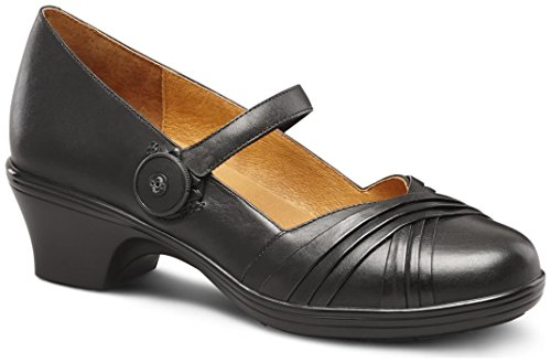 Dr. Comfort Women's Cindee Dress Heels: Black 8 Medium (A/B)