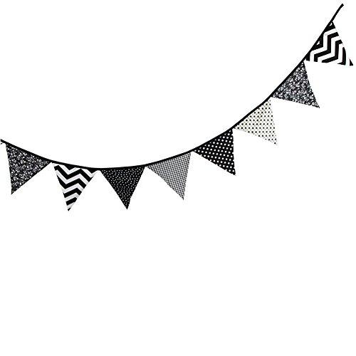 Yiuswoy Baumwolle Wimpelgirlande Banner Wimpelkette Zum Aufhängen