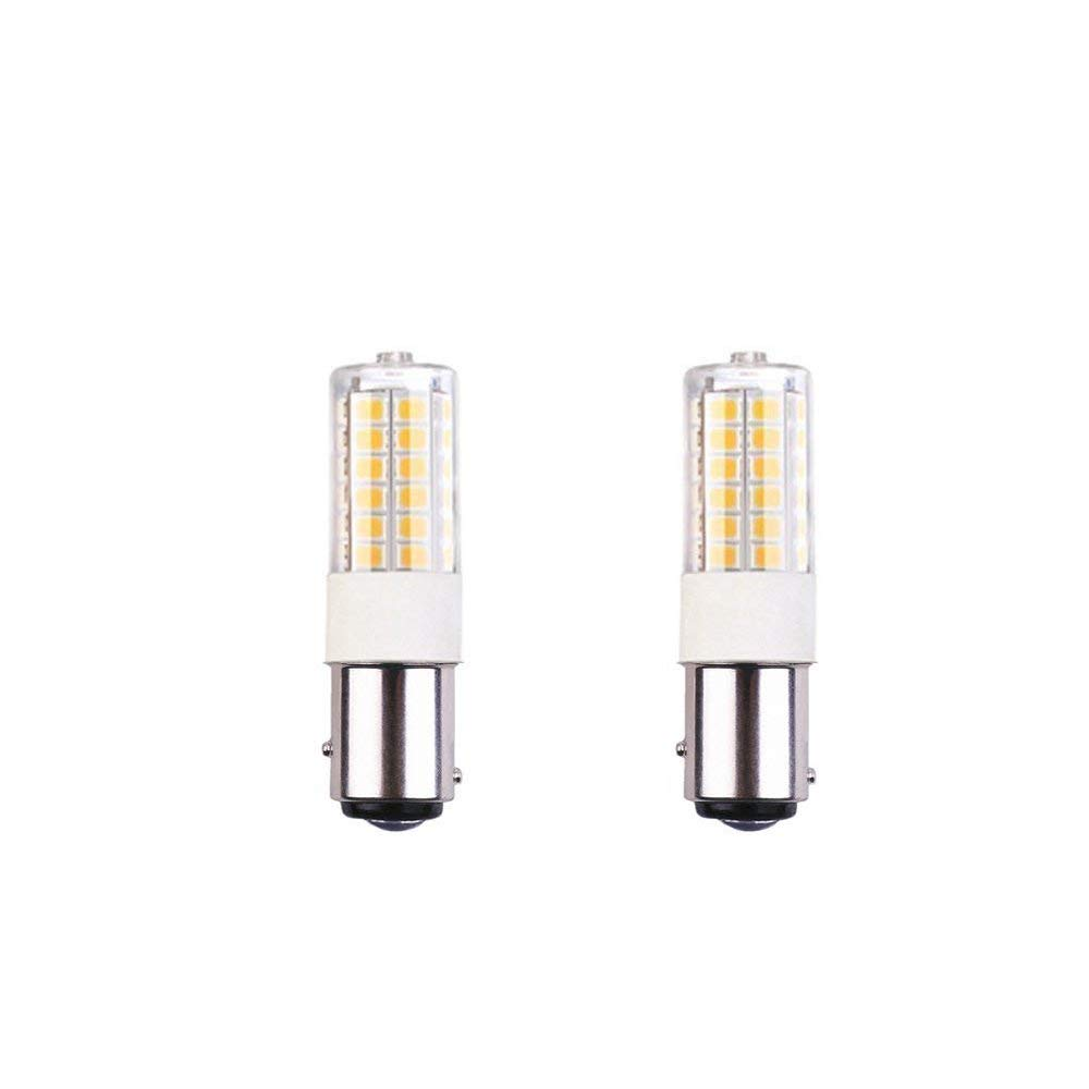 Makergroup 1076 1004 1142 BA15D S8 DC Bayonet Double Contact Base LED Light Bulbs for Boat Marine Lights Works on 12V/&24V RV Camper Trailer Automotive Light Bulbs Cool White 4-Pack