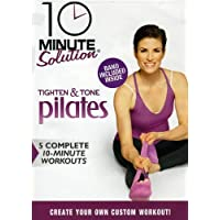 10 Minute Solution: Tighten & Tone Pilates