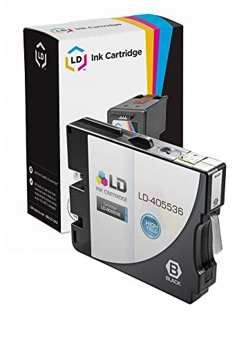 LD Compatible Ink Cartridge Replacement for Ricoh 405536 GC 21KH High Yield (Black)