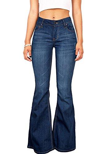 70s Bell Bottom Jeans - 8
