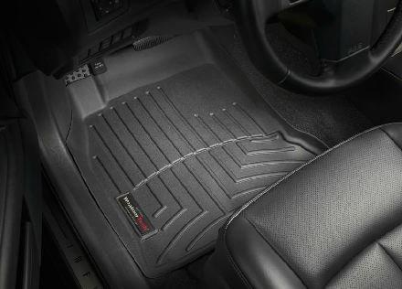 2003-2008 Infiniti FX35 Black WeatherTech Floor Liner (Full Set) (Weathertech Floor Mat For Fx35 compare prices)