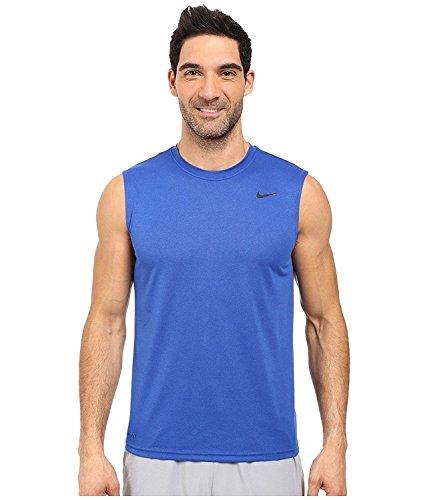 Nike Men s Dry Training Tank Top Game Royal/Black Medium