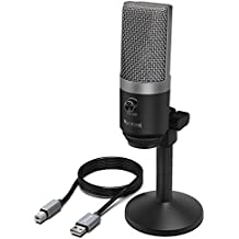 USB Microphone,FIFINE PC Microphone for Mac and Windows Computers,Optimized for Recording ,Streaming Twitch,Voice overs ,Podcasting for Youtube,Skype chats.(K670)