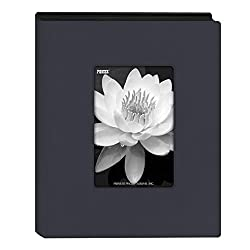 "Pioneer Photo Albums Mini Frame Cover Photo Album, Navy Blue, 4"" X 6"""