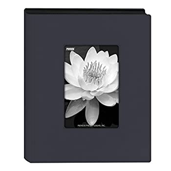 "Pioneer Photo Albums Mini Frame Cover Photo Album, Navy Blue, 4"" X 6"" 0"