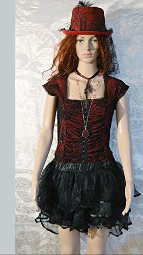 Ladies Burlesque Complete Halloween Costume, Quality Handmade Med/Large]()
