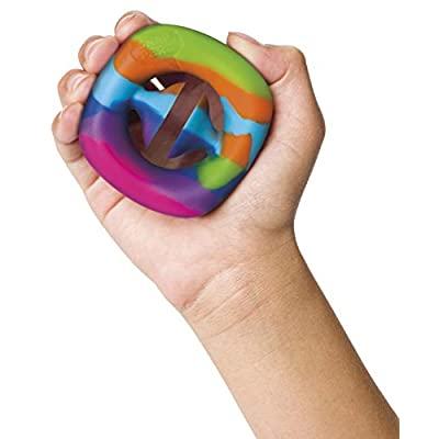 Snapperz Rainbow Fidget Toy, Squeeze, Grab, Snap, Sensory, Party Popper Noise Maker Stress Relief: Toys & Games