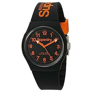 Superdry Reloj Analógico de Cuarzo para Hombre con Correa de Silicona – SYG164B