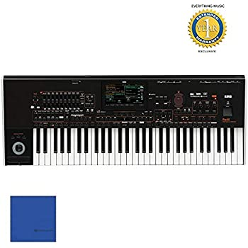 Korg Pa4X Oriental PA4XORT61 61-key Professional Arranger Keyboard with 1 Year Free Extended Warranty and Microfiber