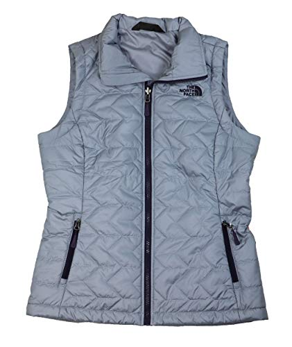 Ladies Signature Quilted Vest (The North Face Tamburello Lightweight Standard Fit Quilted Vest (Mid Grey, Small))