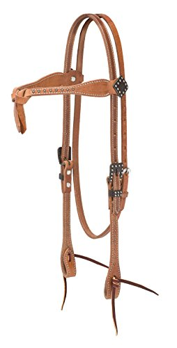 - Weaver Leather Rambler Futurity Browband Headstall