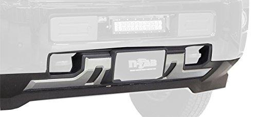 N-FAB C1518CMB Textured Black LBM Bumper Mounts; Multi-Mount System (MMS) Chevy Silverado HD Any  15-18 (N Fab Bumper Dodge Ram)