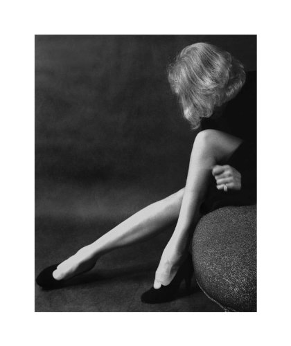 25 x 21 in. Milton H. Greene Marlene Dietrich in an Award-Winning Pose (MD-101)