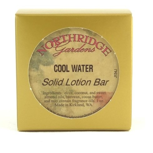 Northridge Gardens Cool Water Solid Lotion Bar 1oz