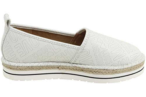 Love Moschino Espadrille Slip On Womens Shoes White by Love Moschino (Image #3)'