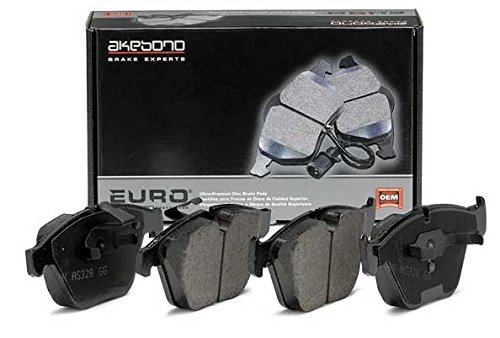 EURO EUR917 Akebono EURO Ultra Premium Ceramic Disc Brake Pad Kit