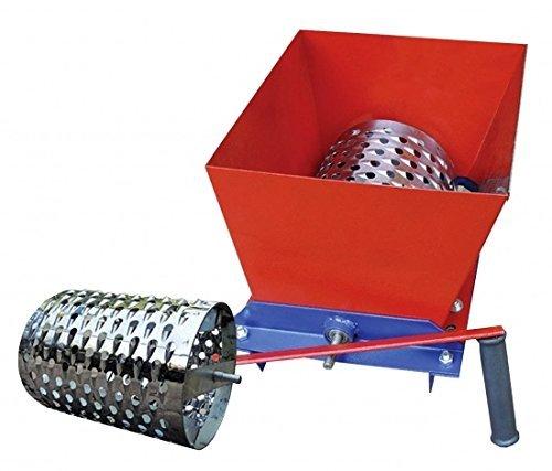 - Manual Feed Fodder Vegetable Fruit Grape Slicer Cutter Chopper Grater Shredder Stainless Steel Drum