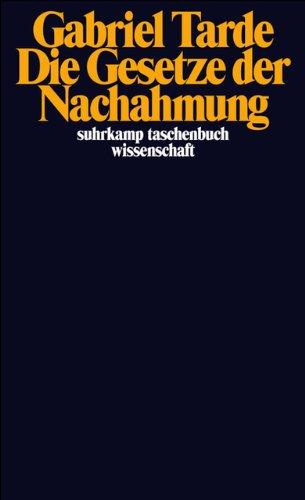 Die Gesetze der Nachahmung (suhrkamp taschenbuch wissenschaft)