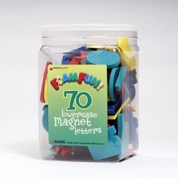 Dowling Magnets Foam Fun Magnet Lowercase Letters by Dowling Magnets