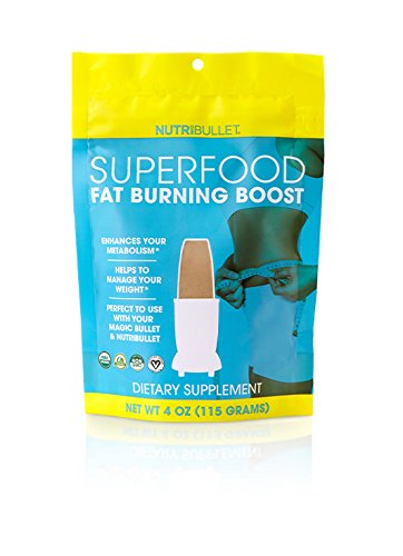 NutriBullet Superfood Fat Burning Boost, 4.2 Ounce