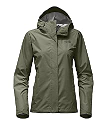 The North Face Women's Venture 2 Jacket Deep Lichen Green Heather - M