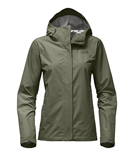 The North Face Women's Venture 2 Jacket Deep Lichen Green Heather X-Small