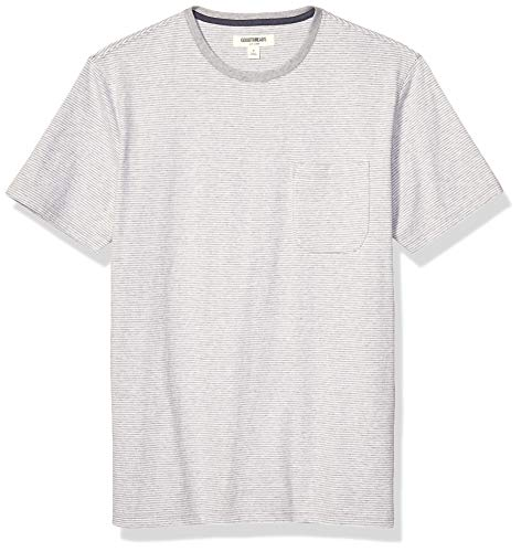 Amazon Brand - Goodthreads Men's Soft Cotton Short-Sleeve Crewneck Pocket T-Shirt
