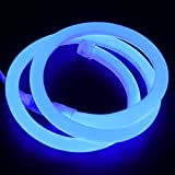 XUNATA 13ft LED Neon Rope Light, DC 12V 2835 Round
