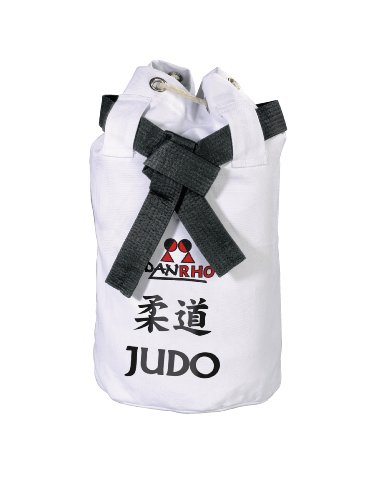 DANRHO Kinder Tasche Dojoline Canvas Bag Judo, weiß, 40 x 40 x 45 cm, 226018010