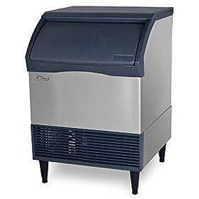 Scotsman CU1526MA Prodigy Self-Contained Undercounter Ice Machine, Air Condenser 150 lb. Production 80 lb. Storage
