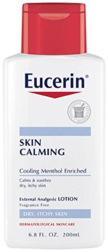 Eucerin Skin Calming, Fragrance-Free Extra Analgesic Lotion