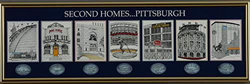 The Greatest-Scapes Second Homes ... Pittsburgh Framed Venues Print