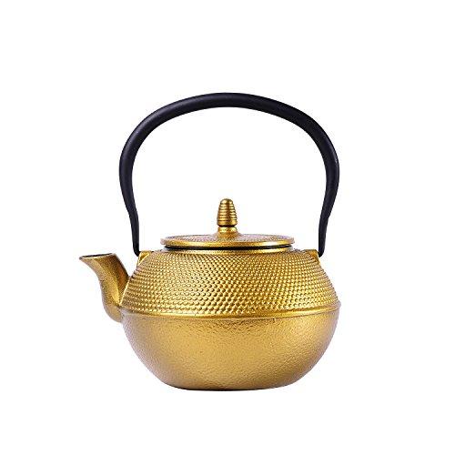 cast iron tea pot 40 oz - 6
