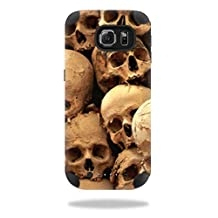 MightySkins Protective Vinyl Skin Decal for Mophie Juice Pack Samsung Galaxy S6 wrap cover sticker skins Skull Pile
