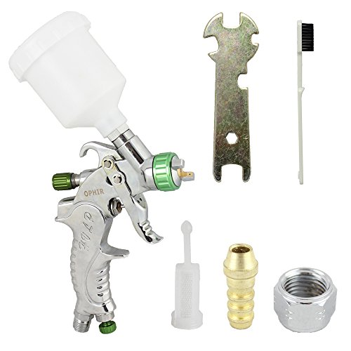 OPHIR Mini Detail Touch Up HVLP Spray Gun 1.0mm Tip Basec...