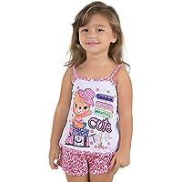 Baby Doll Infantil Oncinha Pink Infantil