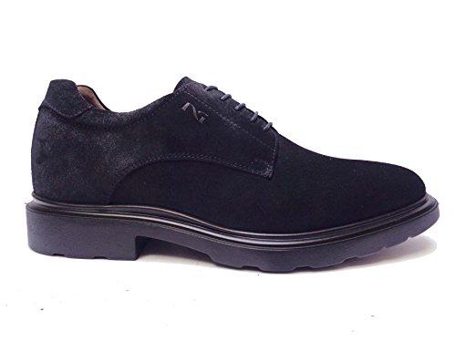 Nero Giardini 5280 Chaussures Casual En Daim Pour Hommes Bleu, Num. 41