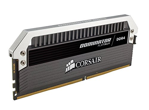 Corsair DOMINATOR Platinum Series 32GB (4 x 8GB) DDR4 DRAM 3333MHz C16 Memory Kit