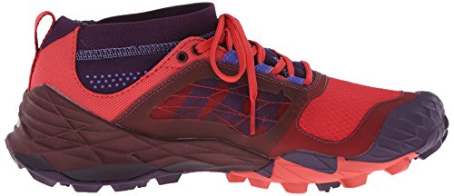 Mujer All Material Plum red Merrell De wild Out Terra Zapatillas Violett Morado Sintético Running Trail wz4xfRq4
