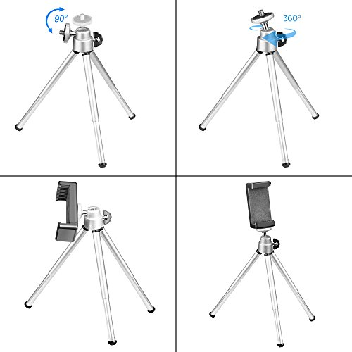 Emart 16'' x 16'' Table Top Photo Portable Photography Studio, Lighting LED Light Box Shooting Tent Kit, Folding Photo Box Tent, Backdrop Background,Camera Tripod & Cell Phone Holder by EMART (Image #6)
