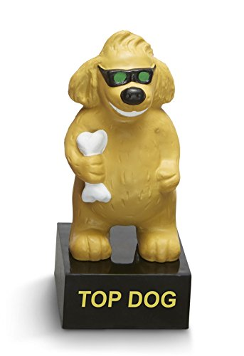 Top Dog Trophy Employee Leadership & Student Achievement Award (Congrats On A Job Well Done)