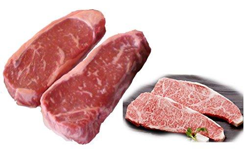 Kobe Beef Wagyu Steaks 12 lb +100% Authentic Japanese Kobe Beef Steaks 3 lb (A5)