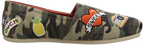 BOBS Shoes camouflage Patch Plush Skechers Women's Perfect 5a4wzq